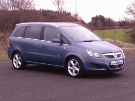 ZAFIRA 1.9CDTI SRI (150) 7 SEATER 12 MONTHS M.O.T 6 MONTHS WARRANTY (FINANCE AVAILABLE)