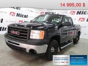 2011 GMC SIERRA 1500 2WD EXTENDED CAB