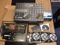 XFX DOUBLE D BLACK EDITION AMD R9 390X 8GB 6000MHz GDDR5 1090MHz GPU 512BIT OC