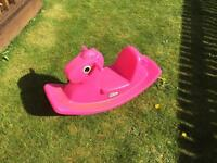 Little Tykes Rocking Horse Pink