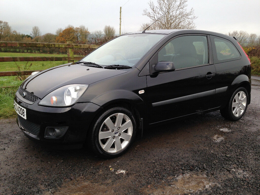 2006 ford fiesta freedom 3 door black long mot just. Black Bedroom Furniture Sets. Home Design Ideas