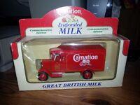 Carnation Milk Lledo model van