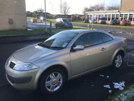 Renault megane convertible coupe