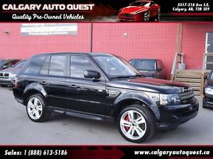 2013 Land Rover Range Rover Sport Supercharged 4WD/NAVI/B.CAM/LE