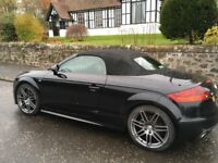 Audi TT Roadster 2.0 TFSI S-Line, S-Tronic Black Edition. Year 2014, Phantom Black, Heated Seats