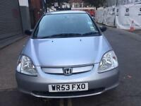HONDA CIVIC 1.6 5 DOOR HATCHBACK GOOD WORKING CAR BARGAIN