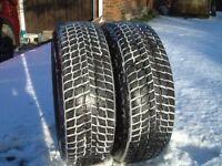NEXEN WINGUARD SUV M&S winter Tyres 215/65R16 98H on X-Trail steel wheels