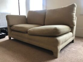 Two seater sofa and arm chair FREE if collected