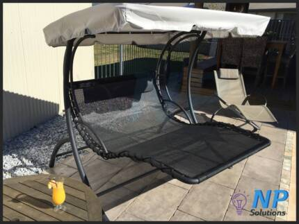 OUTDOOR INDOOR SUN LOUNGE BED POOL GARDEN DECK PATIO LOUNGE SWING Narangba Caboolture Area Preview