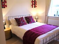 **Modern short let serviced 3 bedroom in Newbury - incl bills, wifi, maid service, fully furnished!