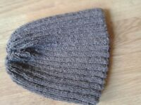 hand knitted beanie hats