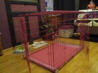 Dog Crate Folding 2 Door - 42""