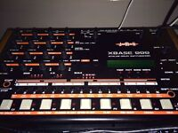 Jomox Xbase 999 - Analog Drum machine with a Digital Heart! Will listen to offers.