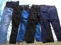 Petite length maternity trousers/jeans