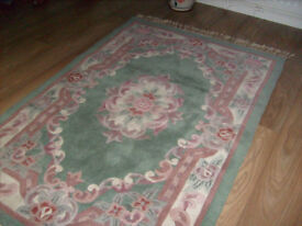 CHINESE RUG GREEN