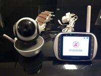 Motorola MBP853 Video Baby Monitor.