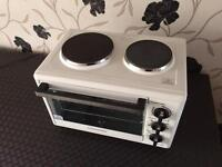 Cookworks mini oven with hob, excellent condition