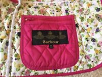Girls Quilted Barbour Jacket