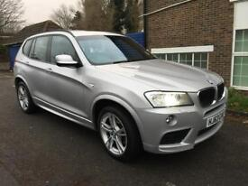 2014 BMW X3 20d M AWD SUV - Automatic with paddle shifters, loaded