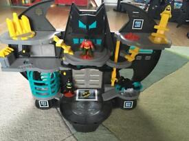 Imaginext Batman batcave playset.