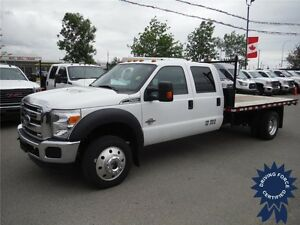 2015 F550 XLT SuperCrew 4WD - Diesel - 12ft Deck - Fresh CVIP