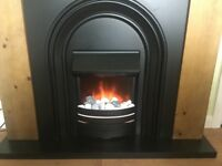 Electric fire and surround( from Next)