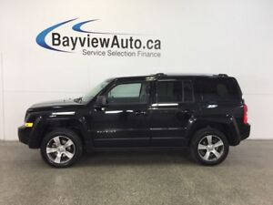 2017 Jeep PATRIOT HIGH ALTITUDE- 4x4|SUNROOF|HTD LTHR|UCONNECT!