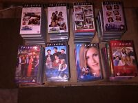 Friends Series 1 - 8 on VHS Tapes for sale