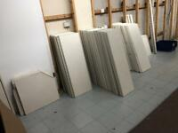 Commercial shop shelving 16 bays great condition!!