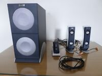 Altec Lansing 2100 PC speakers 2.1