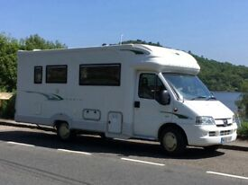 2005 Autocruise Wentworth. 2 berth luxury motorhome