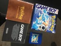 Nintendo GameBoy Pokemon Blue