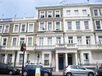 1 Bedroom part-furnished Top Floor Flat in Baron's Court Road