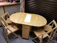 Butterfly Drop Leaf Table & Chairs