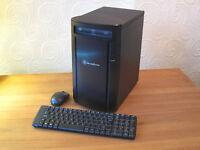 AMD Athlon 5350 AM1 Quad Core APU (2.05 GHz) Silverstone SG04B-F Base Unit