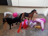 FREE Small selection of girls toys, horses, my little pony FREE