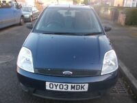 Ford Fiesta navy blue 5 doors 2003