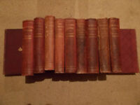 Charles Dickens collection of his stories in 11 volumes