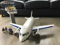 Playmobil Airplane with Tower