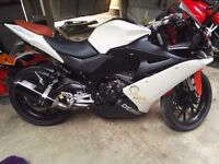 2010 DERBI GPR 125 4T,4V, WHITE PEARL, EASY PROJECT, SPARES OR REPAIR,PX,SWAP