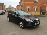 2010 FORD FOCUS ZETEC 12 MONTH MOT FULL SERVICE HISTORY LOW MILEAGE FULL HPI CLEAR 1 OWNER