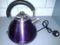 morphy richards electric kettle and macthing toaster
