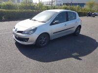 Renault clio 1.4 2007 low mileage
