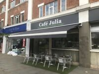 Cafe restaurant to rent in Greenford Broadway,high footfall £24000/annum inc. b rates. £5000 premium