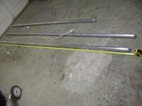 Unused Greenhouse Tube Heaters 8' & 10' long