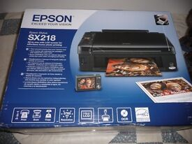 PRINTER EPSON SX218 NEW BOXED