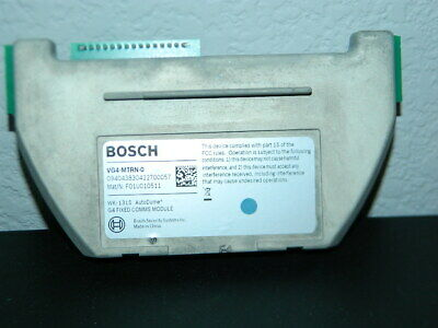 Bosch Vg4-mtrn-o 1314 Autodome G4 Fixed Comms Module Vg4-mtrn-0