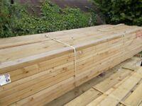 "5"" x 2"" Timber 3 meter lengths £6.25"