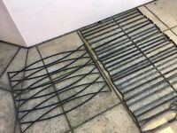 Decorative Wrought Iron Railings £80 the lot **PRICE REDUCED**