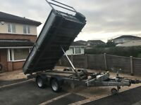 Ifor Williams 12 ft electric tipper